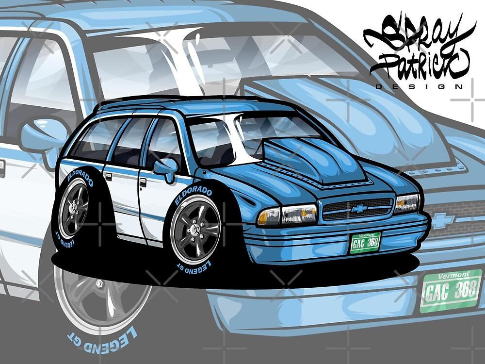Chevrolete Caprice 1994 by SprayPatrick
