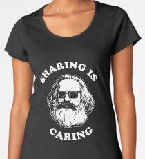 Sharing Is Caring Women's Premium T-Shirt