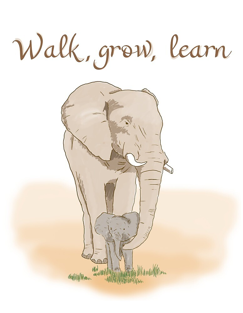Walk, Grow, Learn by Javier Bruque Barrales