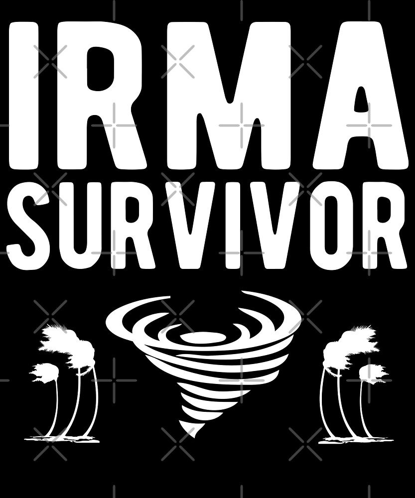 Hurricane Irma Survivor T-Shirt by Kimcf
