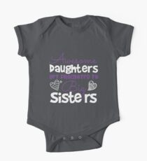 Daughters Big Sisters Birthday Baby Shower Funny Gift Shirt Kids Clothes