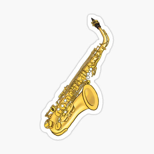 Saxophone  Sticker