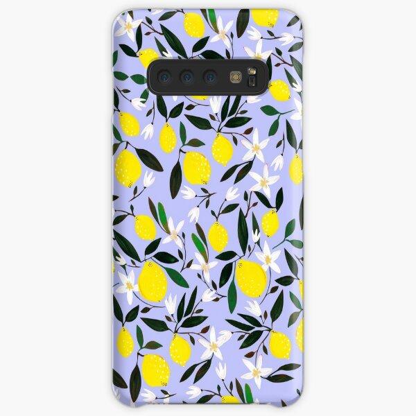 Lemons Blue Samsung Galaxy Snap Case