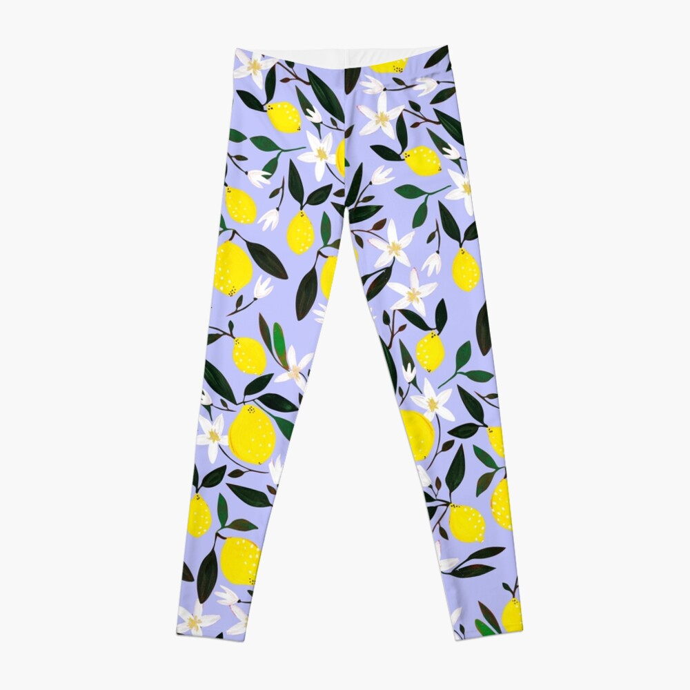 Lemons Blue Leggings