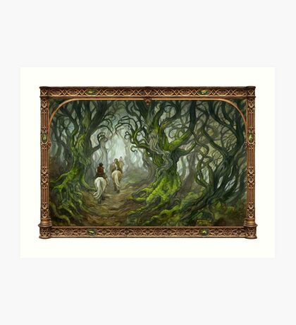 The Old Forest Art Print
