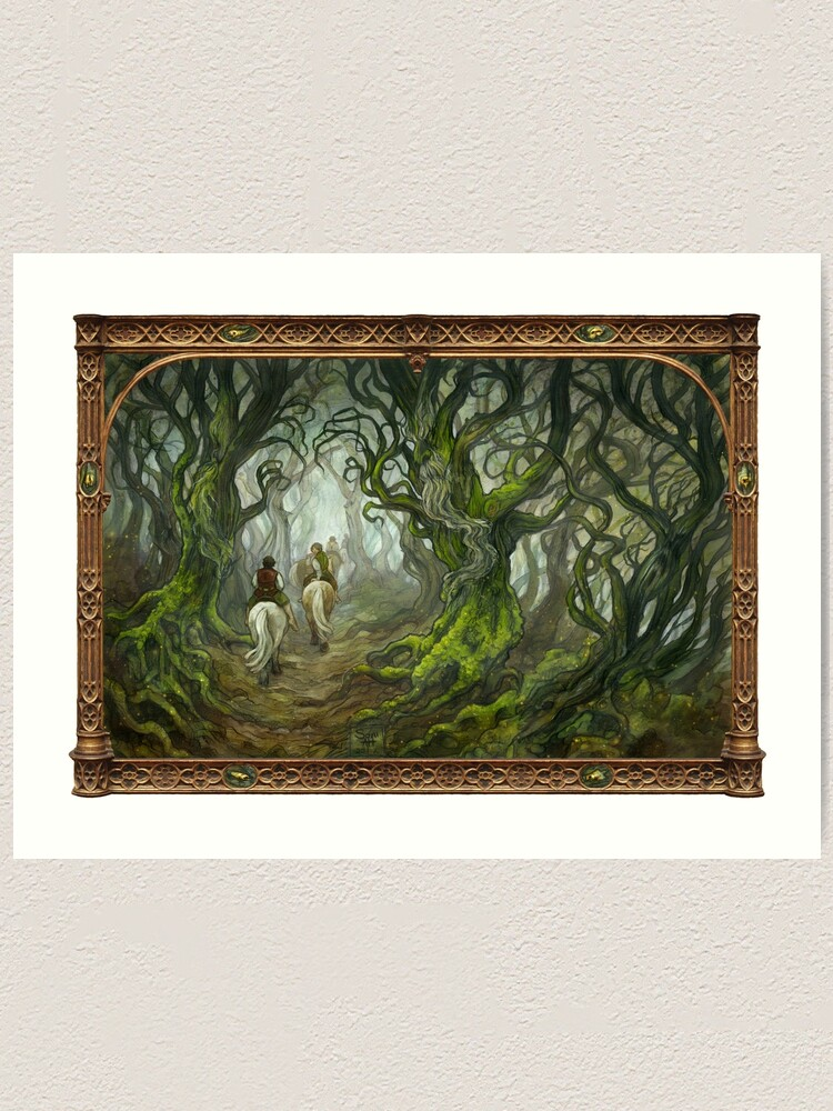 Alternate view of The Old Forest Art Print