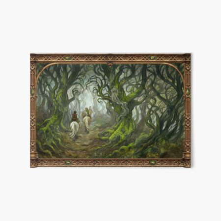 The Old Forest Art Board Print