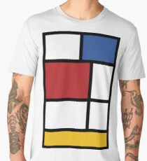 Mondrian #3 Men's Premium T-Shirt