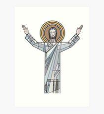 Touchdown Jesus Kunstdruck