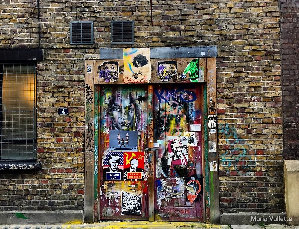 London Street Art by Maria Vallette