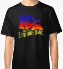 KC AND THE SUNSHINE BAND (SUNSET) Classic T-Shirt