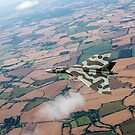 Avro Vulcan over Essex by Gary Eason