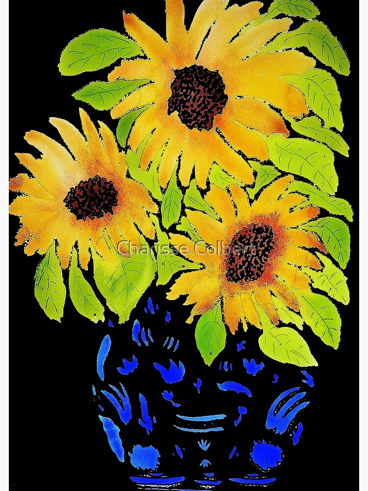 Sunflowers by charissecolbert