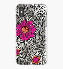 William Morris Marigold, Gray / Grey, and White iPhone Case/Skin