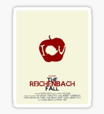 The Reichenbach Fall Sticker