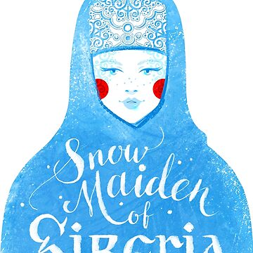 Snowmaiden by Sofia-G