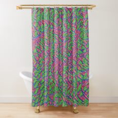 Untitled Flowers Shower Curtain