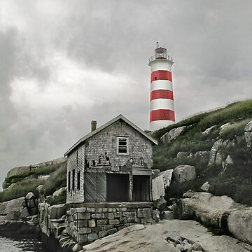 Abandoned - The Sambro Island Lighthouse by Darlene