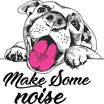 Dog make some noise by samcallou