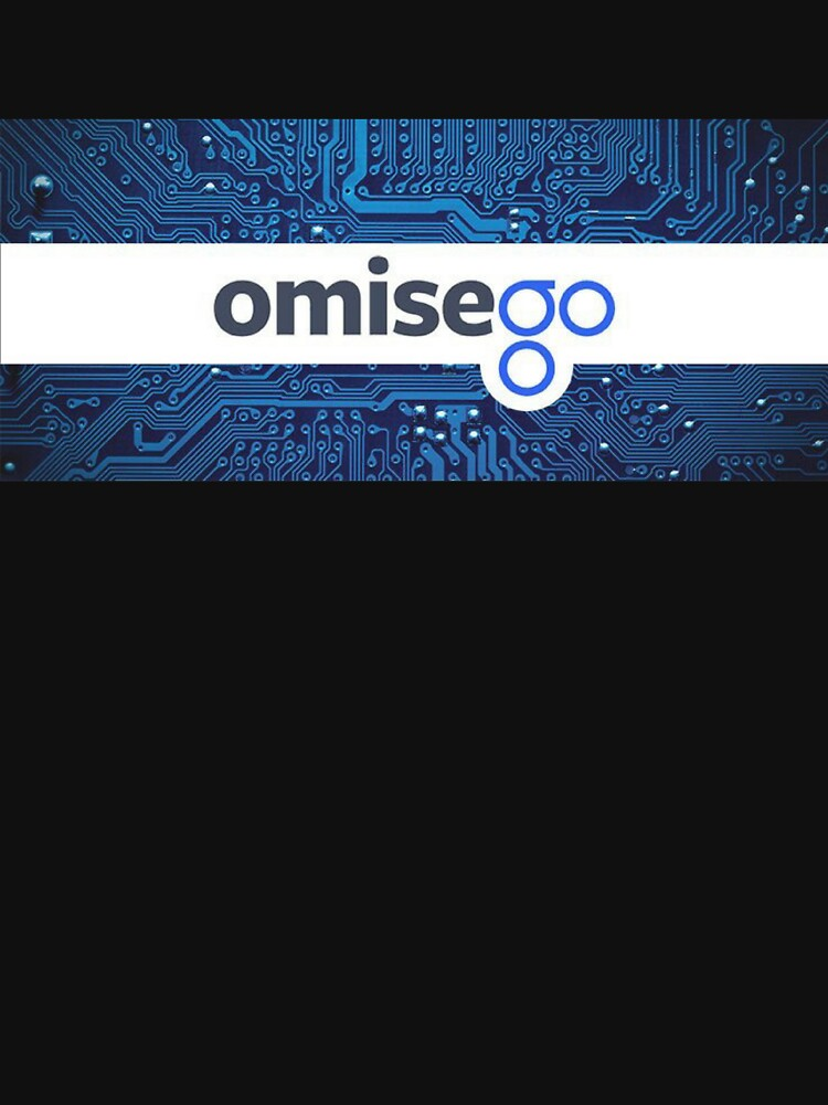 Omisego Shirt - Crypto Shirt - Blockchain Shirt by NativOrganics