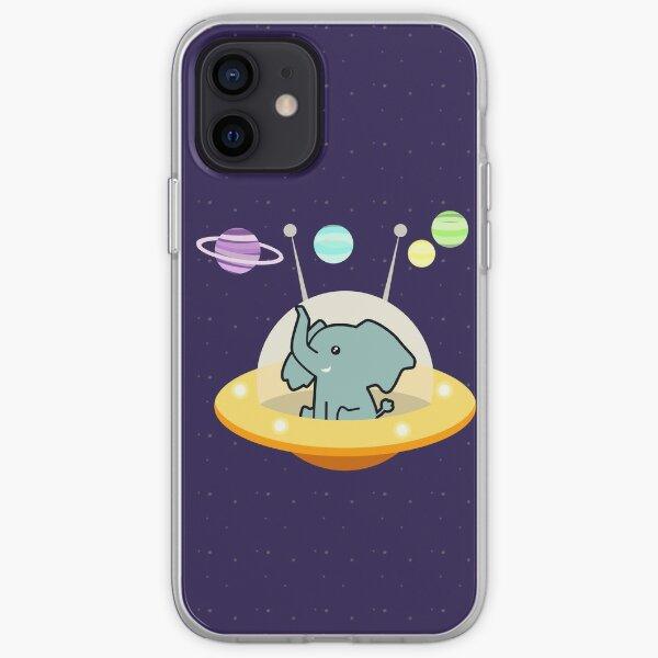 Astronaut elephant: Galaxy mission iPhone Soft Case