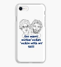 Conchords Mutha Uckas iPhone Case/Skin