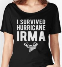 I Survived Hurricane Irma T-Shirt Women's Relaxed Fit T-Shirt