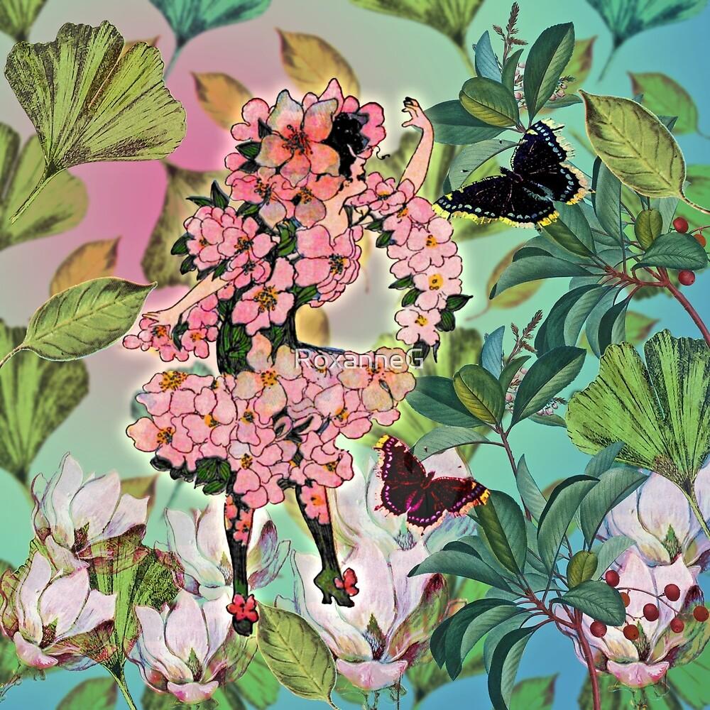 Vintage Flower Fairy by RoxanneG