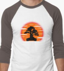 Bonsai Sunset Men's Baseball ¾ T-Shirt