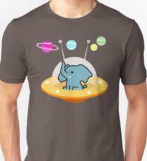 Pattern astronaut elephant: Galaxy mission T-Shirt