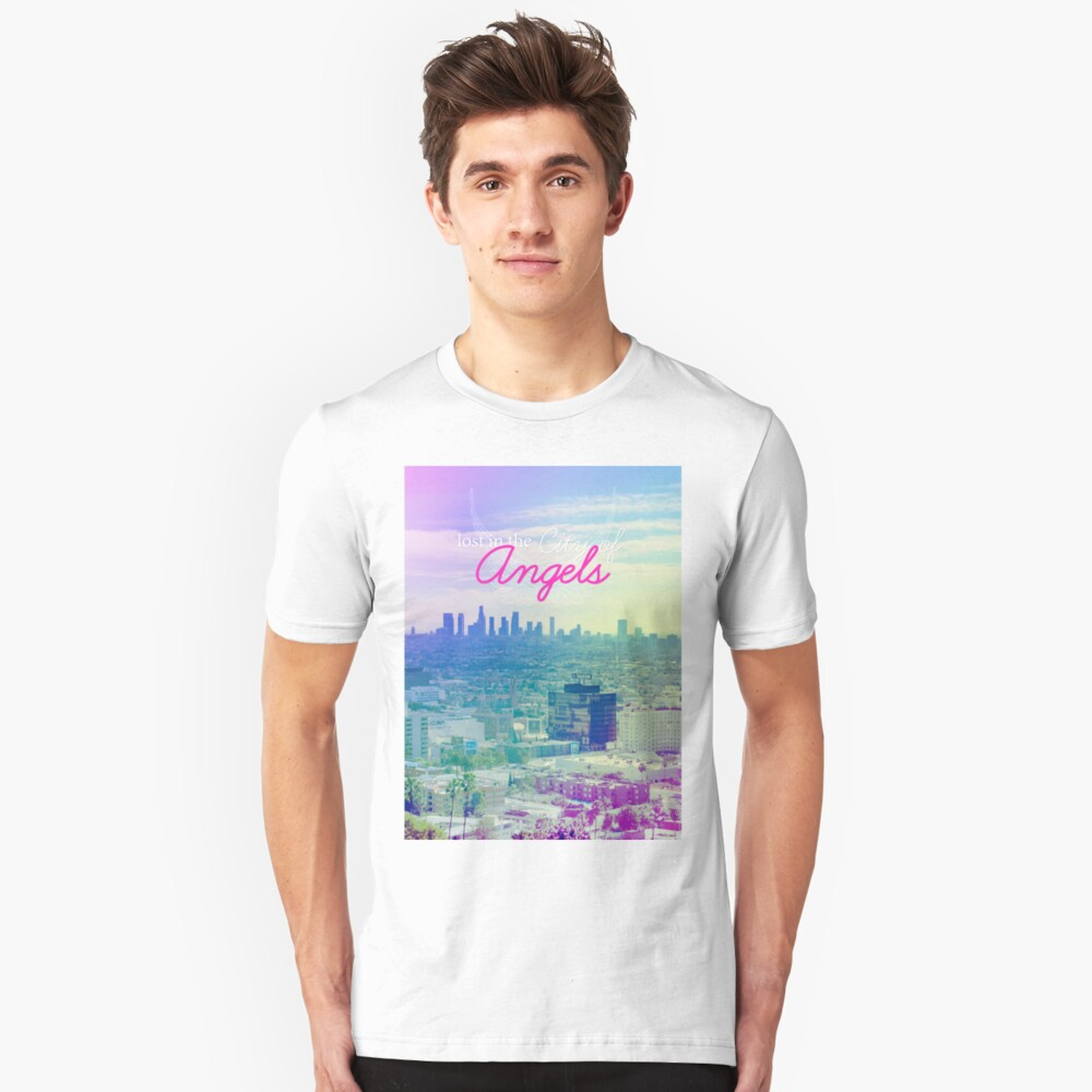 Lost in the City of Angels Unisex T-Shirt Front