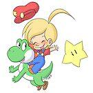 « Yoshi and Baby Mario » par mimikaweb