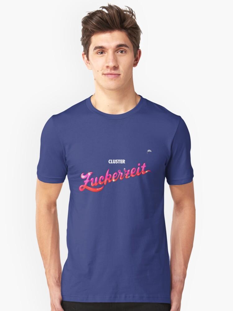 Cluster- Zuckerzeit Unisex T-Shirt Front