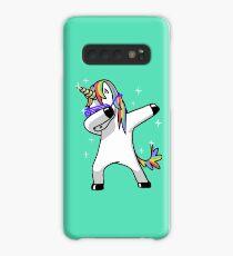 Dabbing Unicorn Shirt Dab Hip Hop Funny Magic Case/Skin for Samsung Galaxy
