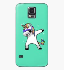 Funda/vinilo para Samsung Galaxy Dabbing Unicorn Shirt Dab Hip Hop Funny Magic