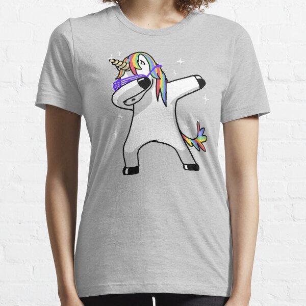 Dabbing Unicorn Shirt Dab Hip Hop Funny Magic Essential T-Shirt