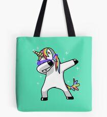 Dabbing Unicorn Shirt Dab Hip Hop Funny Magic Tote Bag