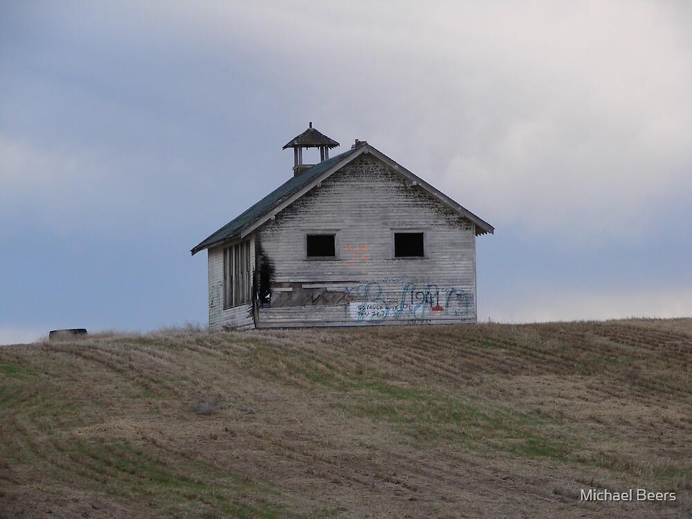 EASTERN WASHINGTON OLD SCHOOL HOUSE by Michael Beers