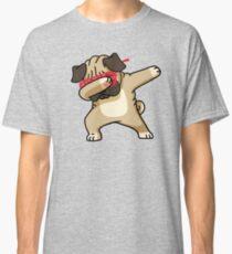Dabbing Pug Funny Shirt Hip Hop Dabbin Classic T-Shirt