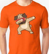 Dabbing Pug Funny Shirt Hip Hop Dabbin T-Shirt