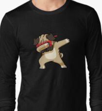 Dabbing Pug funny hip hop tshirt T-Shirt