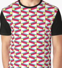 Isometric colorful bricks seamless pattern. Graphic T-Shirt