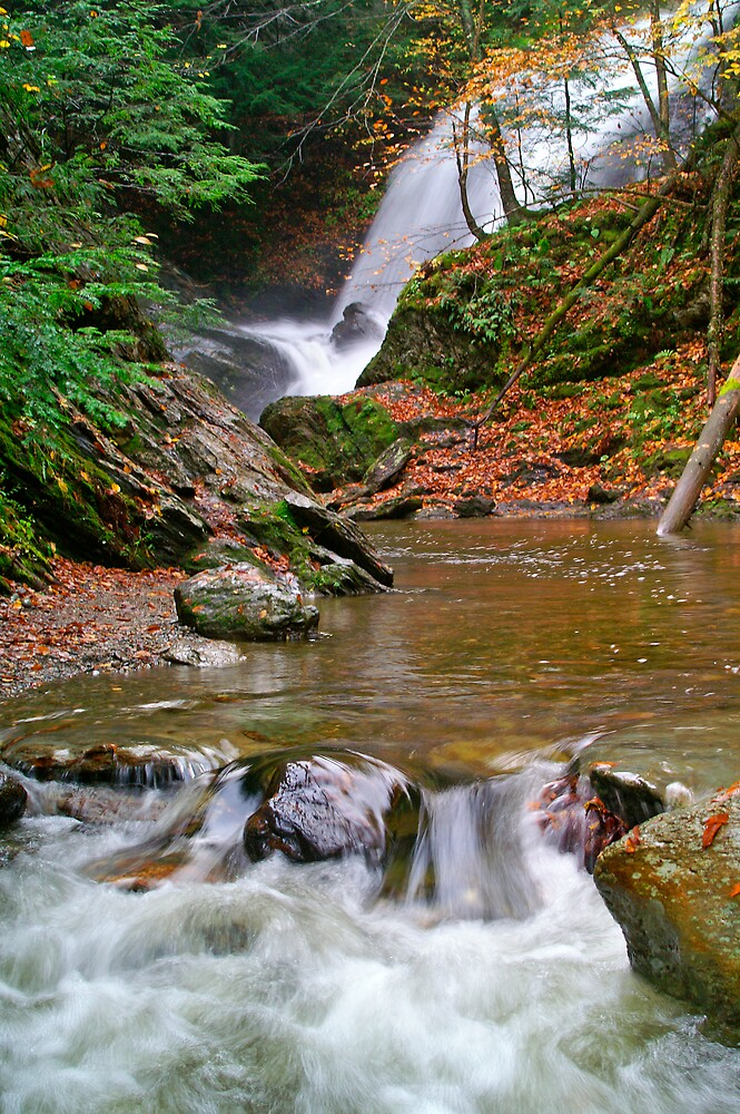 A cascade in Vermont by gcamilleri