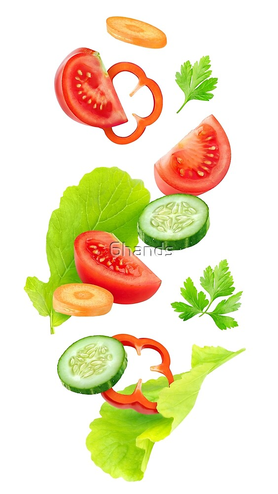 Fresh vegetables by 6hands