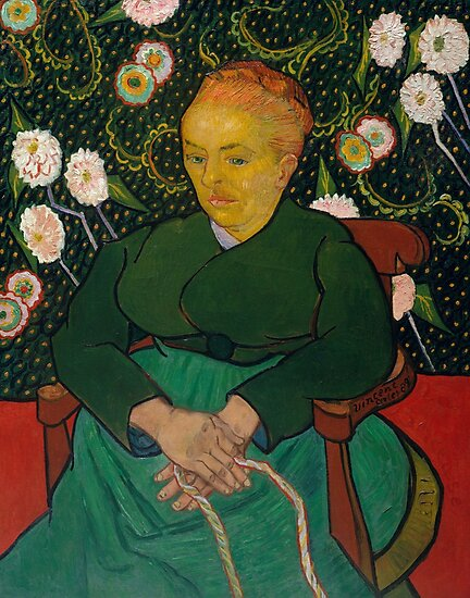 Woman Rocking a Cradle, Vincent Van Gogh by fineearth