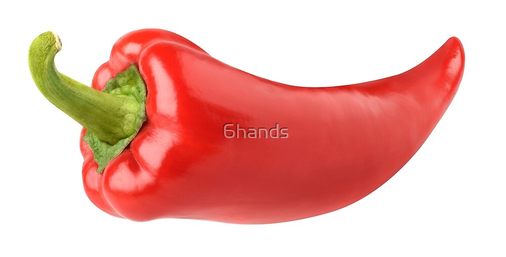 Red bell pepper by 6hands