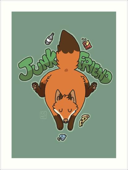 Junk Friend by C.C Art