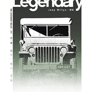 Jeep Legendary Funny t-shirt by FBRANDAO
