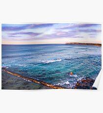 Bar Beach NSW Australia Poster