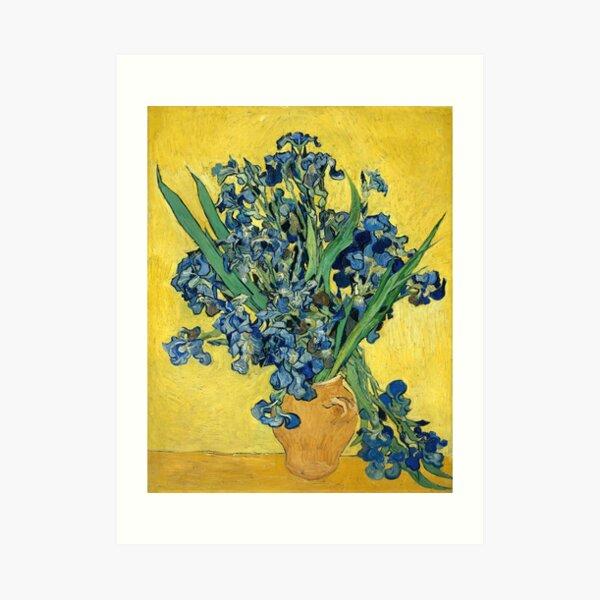 Vincent van Gogh - Irises, 1890  Art Print